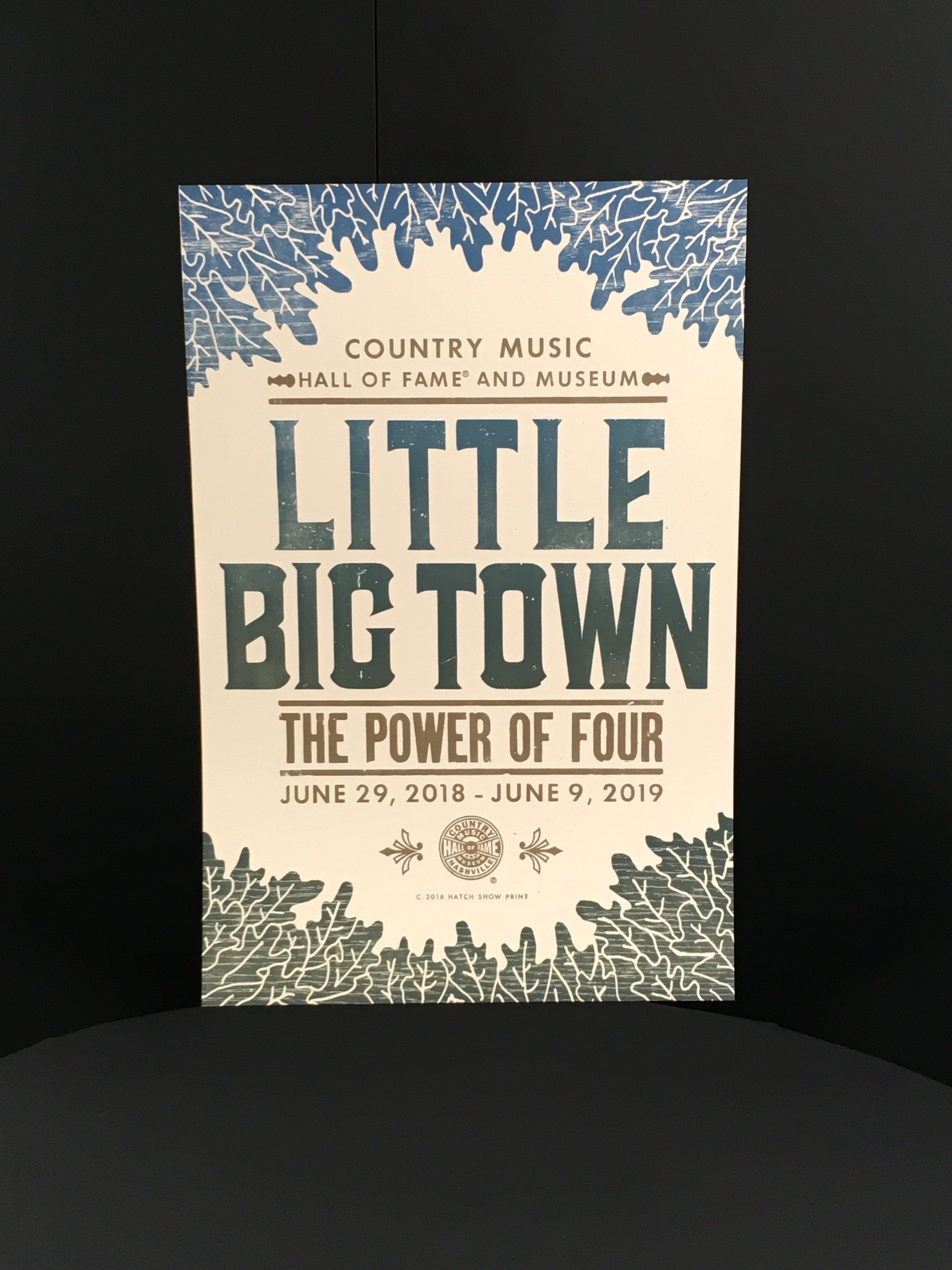 Hatch Show Print Poster – Little Big Town